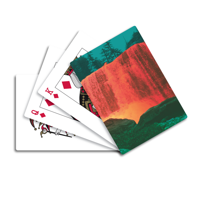 The Waterfall II Playing Cards