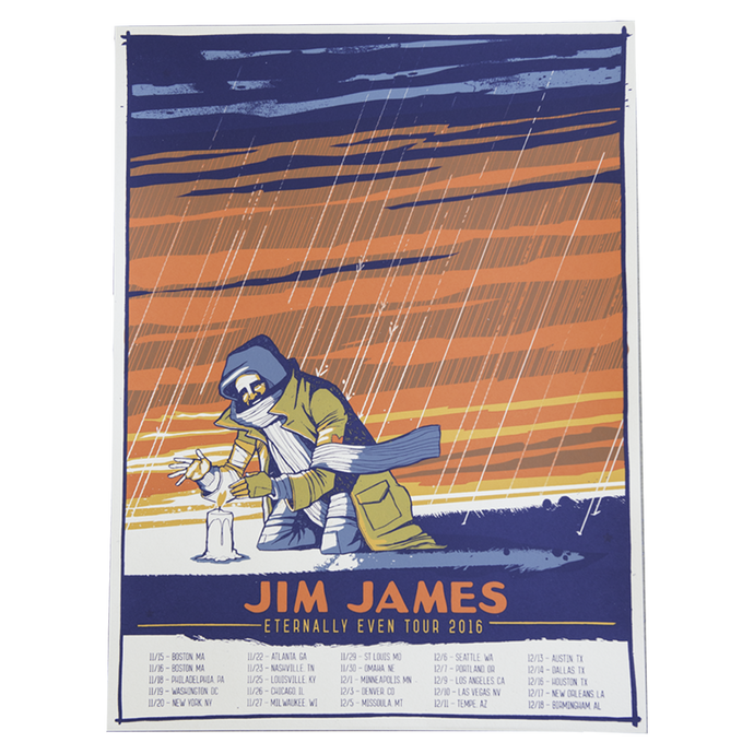 Jim James - 2016 Tour Poster