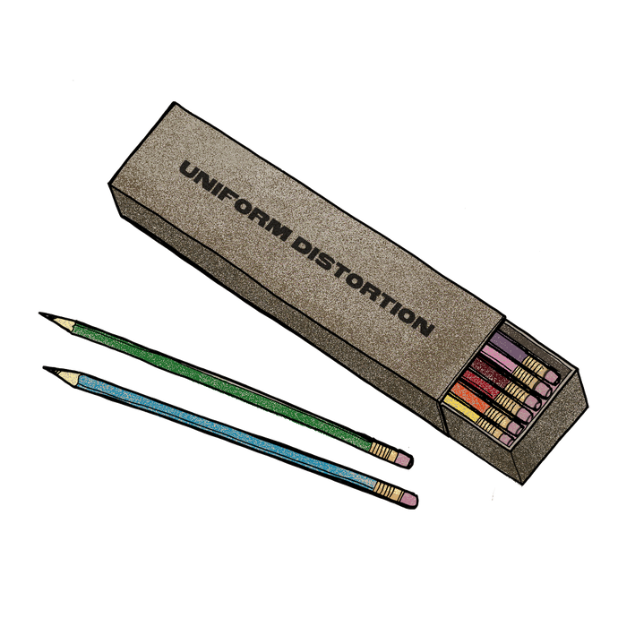 Jim James - Uniform Distortion Pencil Set
