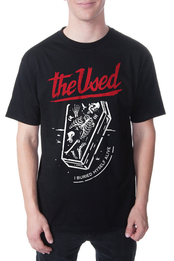 The Used  Buried Alive Tee Black