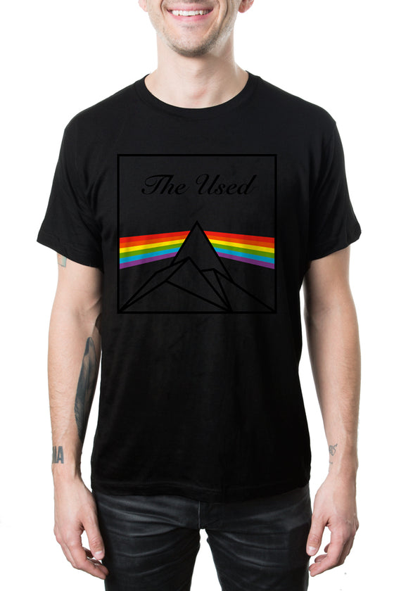 The Used Dark Side Mono Tee Black
