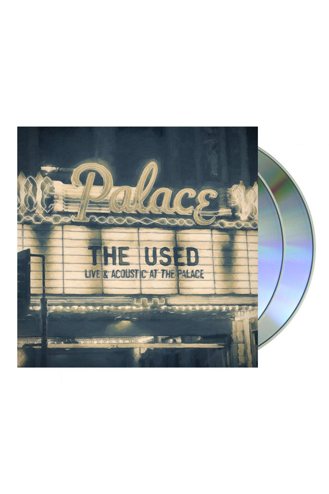 The Used Live and Acoustic at the Palace CD DVD