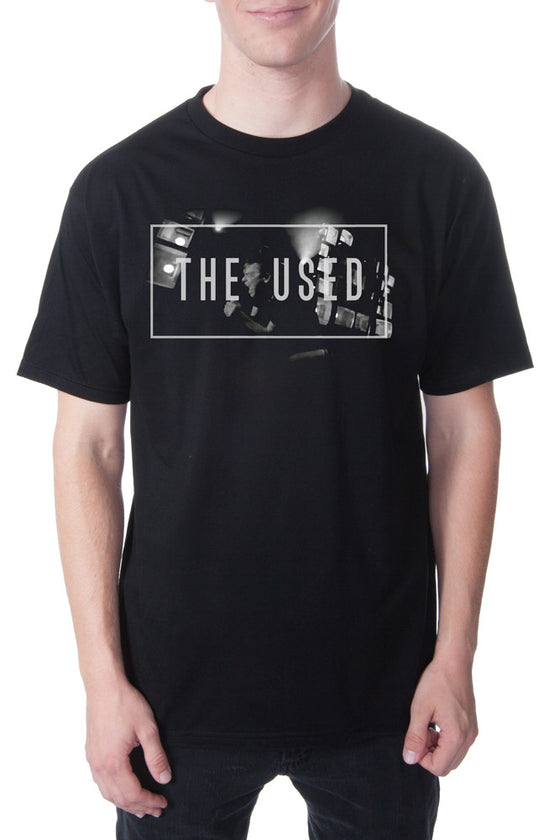 The Used Scream Tour Tee Black