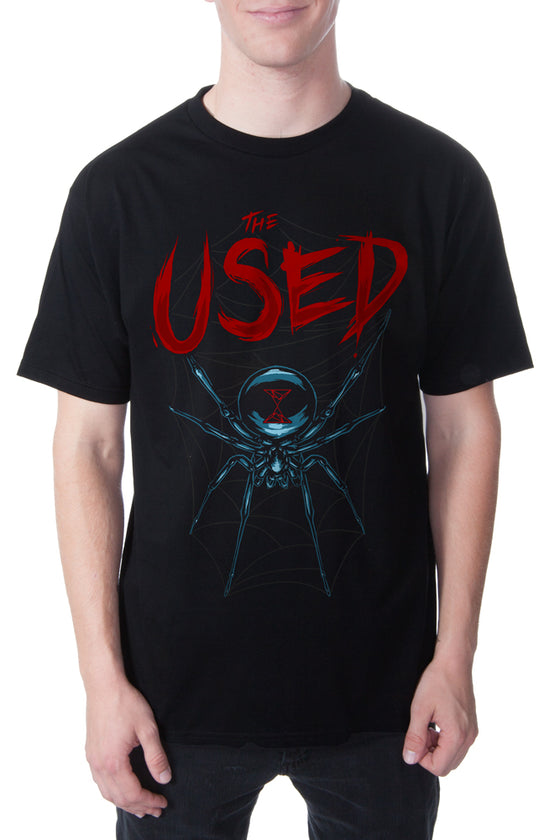 The Used Widow Tour Tee Black