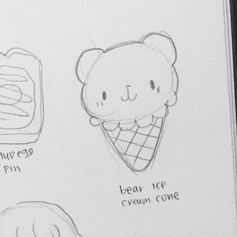 the original ice cream bear