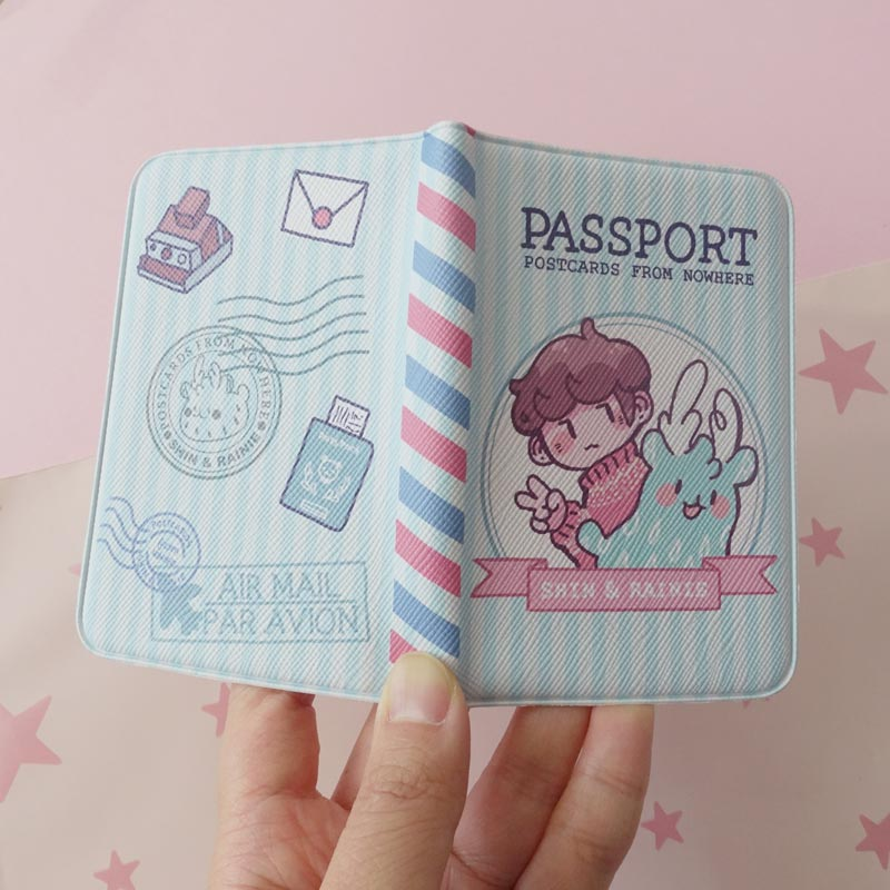 postcards from nowhere passport card wallet