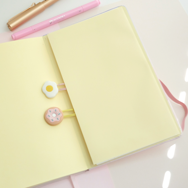 carmellow the space jellyfish plain notebook