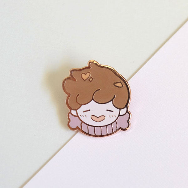 honey bear enamel pin