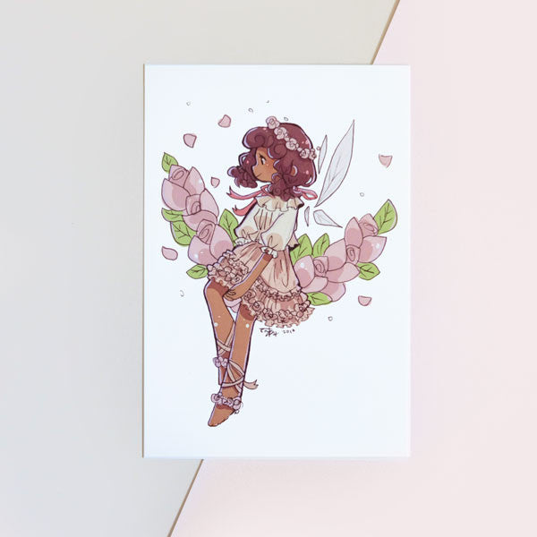 sugar plum fairy mini print