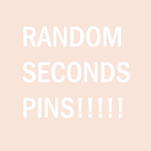 random second chance enamel pin