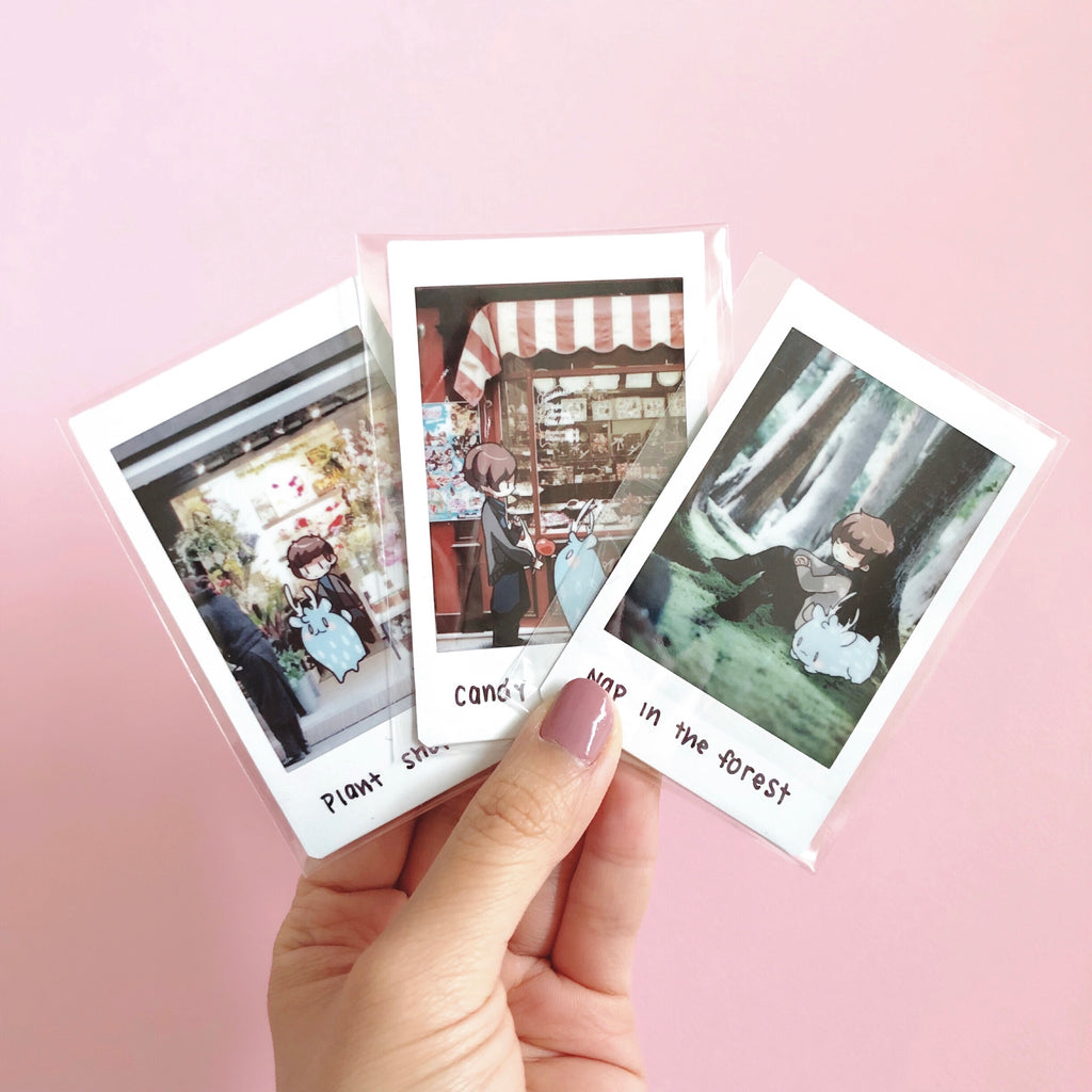 postcards from nowhere instax photo