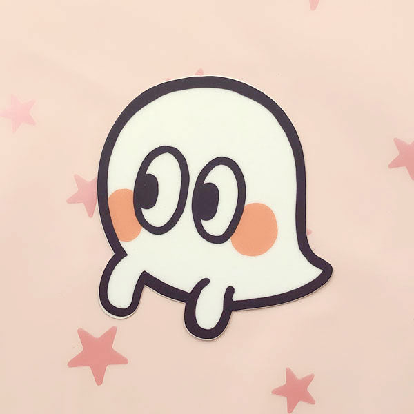 side eye ghost vinyl sticker
