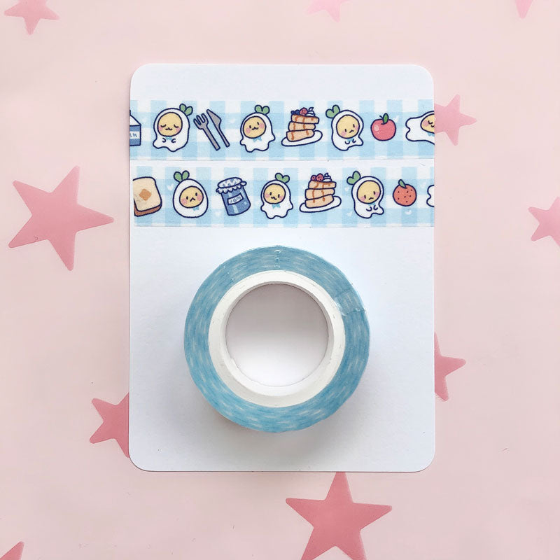 tamachan breakfast 15mm washi tape