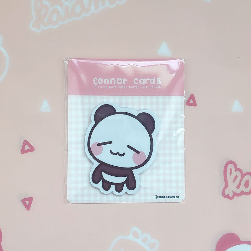 connor matte notecard set
