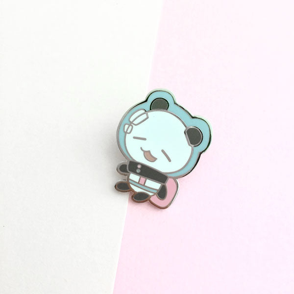 space connor enamel pin