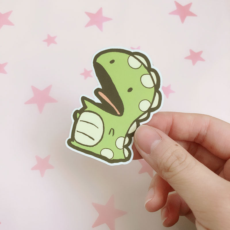gordy the dinosaur vinyl sticker