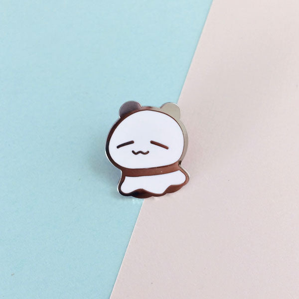 ghost connor enamel pin