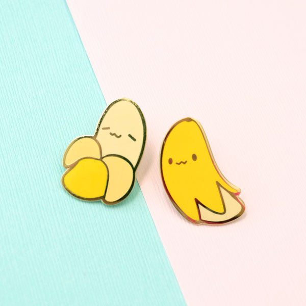 banana bros pin set