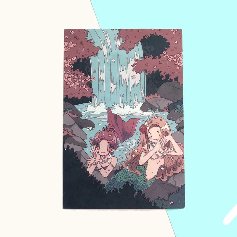 blossom baths mini print