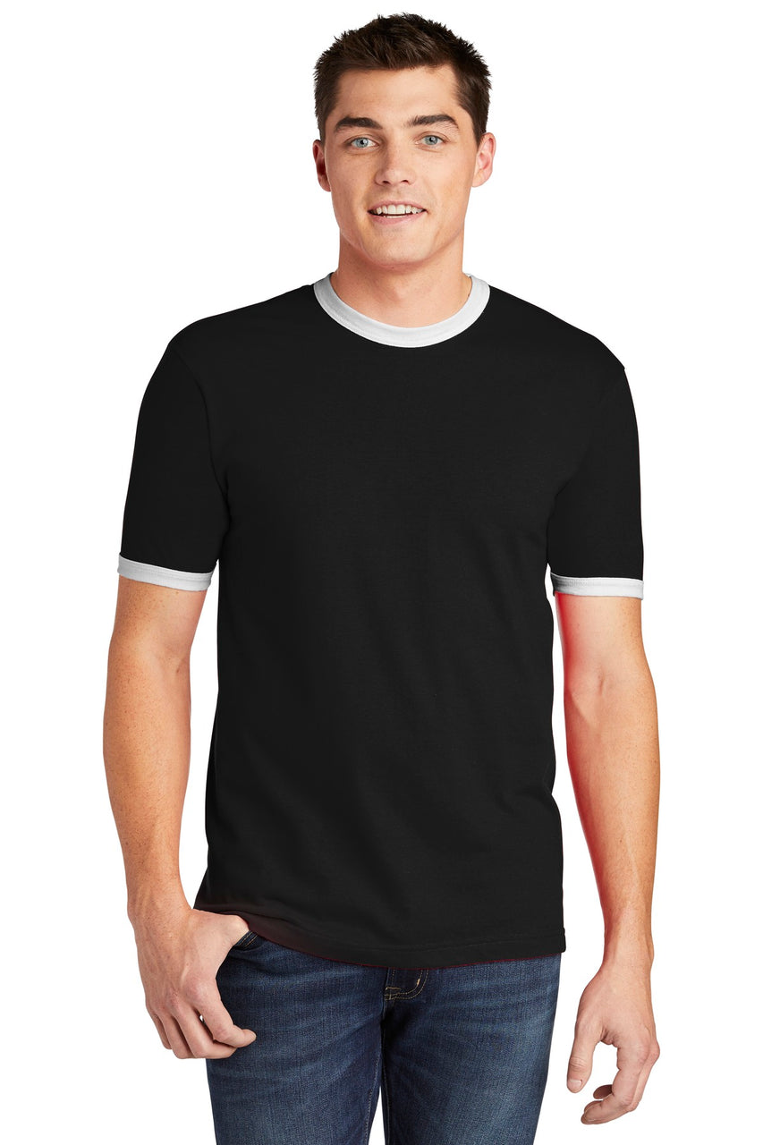 American Apparel ® Fine Jersey Ringer T-Shirt. 2410W