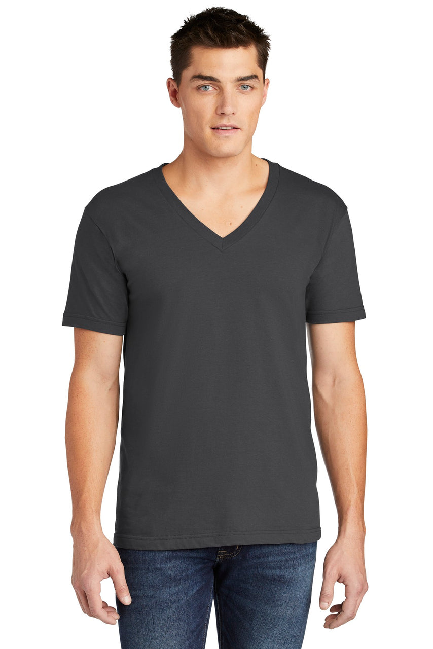 American Apparel ® Fine Jersey V-Neck T-Shirt. 2456W