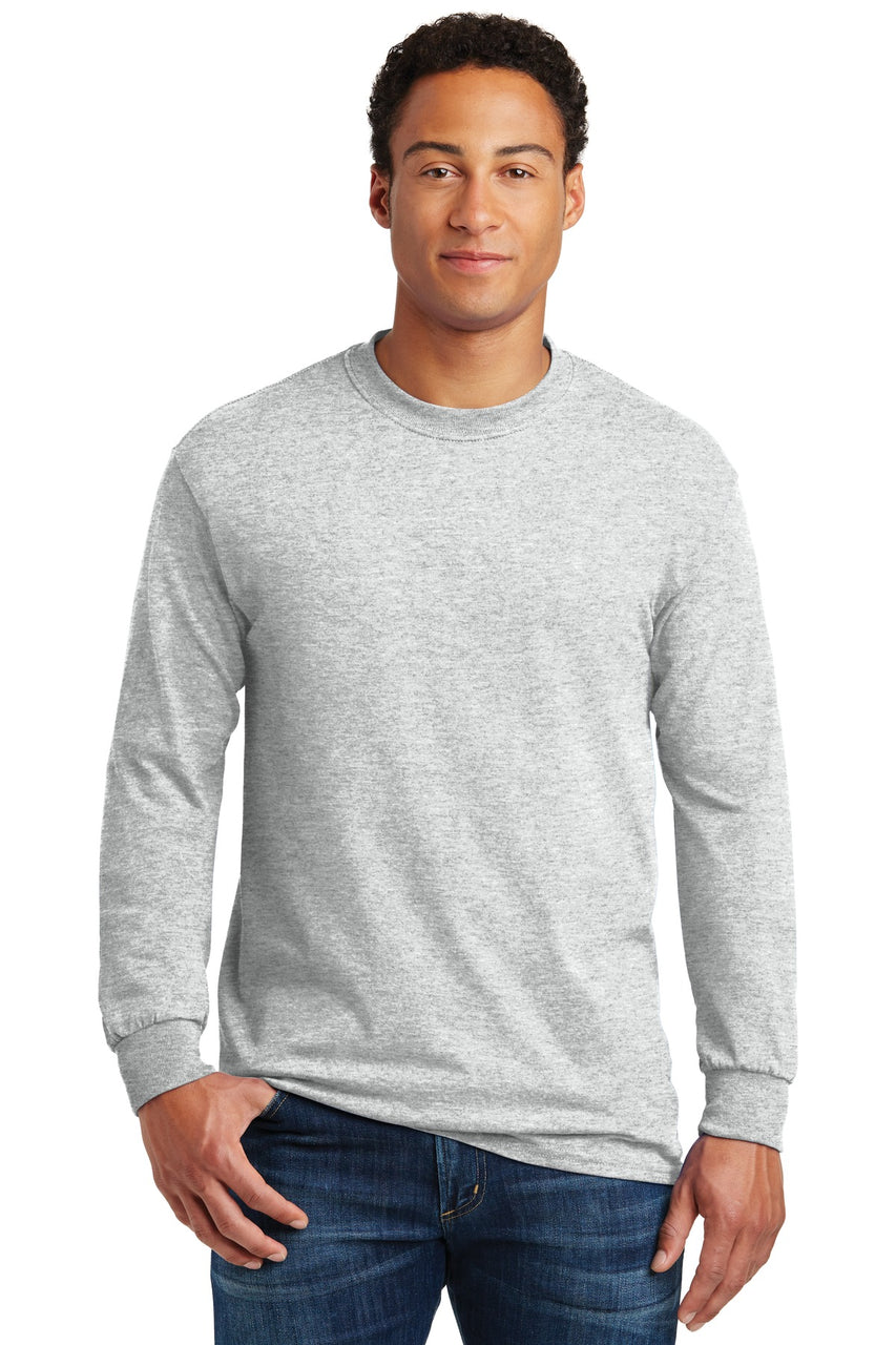Gildanå¨ - Heavy Cotton‰ã¢ 100% Cotton Long Sleeve T-Shirt.  5400