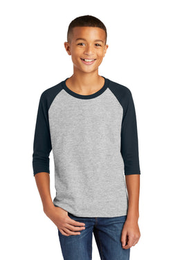 Gildan å¨ Heavy Cotton ‰ã¢ Youth 3/4-Sleeve Raglan T-Shirt. 5700B