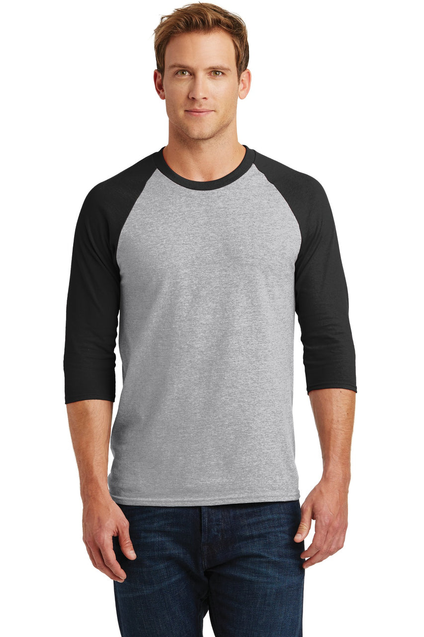 Gildanå¨ Heavy Cotton™ 3/4-Sleeve Raglan T-Shirt. 5700
