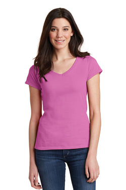 Gildan Softstyle® Junior Fit V-Neck T-Shirt. 64V00L