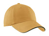 Port Authority® Sandwich Bill Cap with Striped Closure.  C830