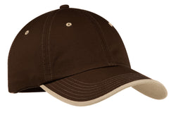 Port Authority® Vintage Washed Contrast Stitch Cap.  C835