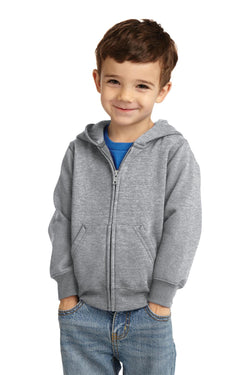 Port & Company® Toddler Core Fleece Full-Zip Hooded Sweatshirt. CAR78TZH