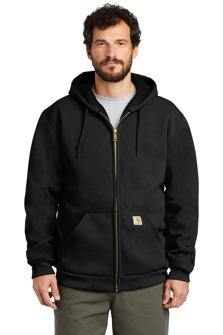 Carhartt ® Rain Defender ® Rutland Thermal-Lined Hooded Zip-Front Sweatshirt. CT100632