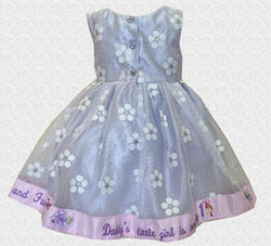 18 MO Adorable Grey & Pink My 1st Birthday Dress