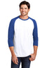 District ® Perfect Tri® 3/4-Sleeve Raglan. DM136