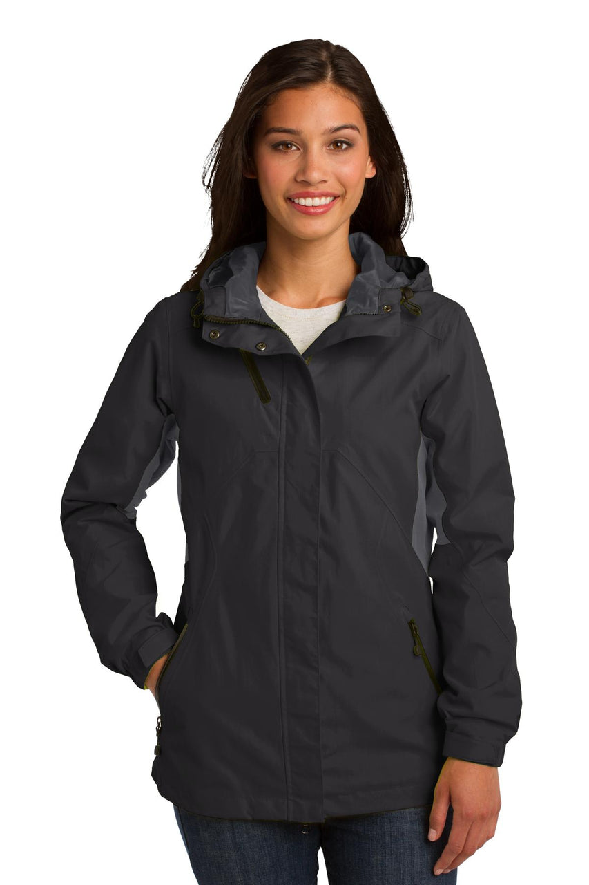 Port Authority® Ladies Cascade Waterproof Jacket. L322