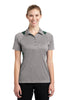 Sport-Tek® Ladies Heather Colorblock Contender™ Polo. LST665