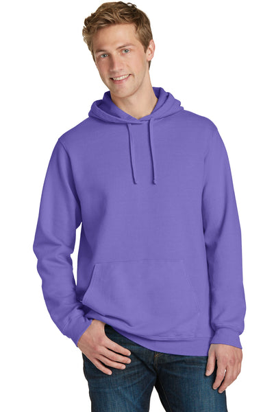 Port & Company® Beach Wash™ Garment-Dyed Pullover Hooded Sweatshirt. PC098H