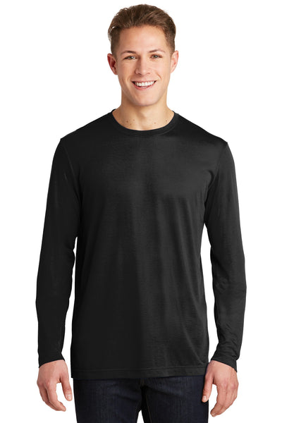 Sport-Tek® Long Sleeve PosiCharge® Competitor™ Cotton Touch™ Tee. ST450LS
