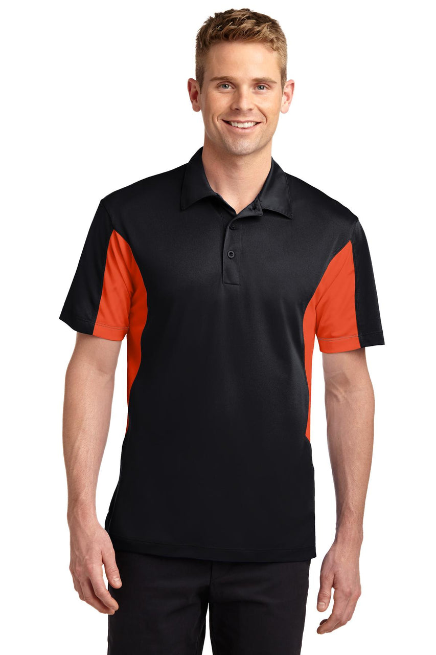 Sport-Tek® Tall Side Blocked Micropique Sport-Wick® Polo. TST655