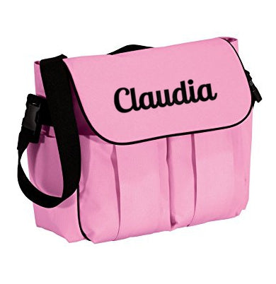 Precious Cargo Pink customized with name  Diaper bag