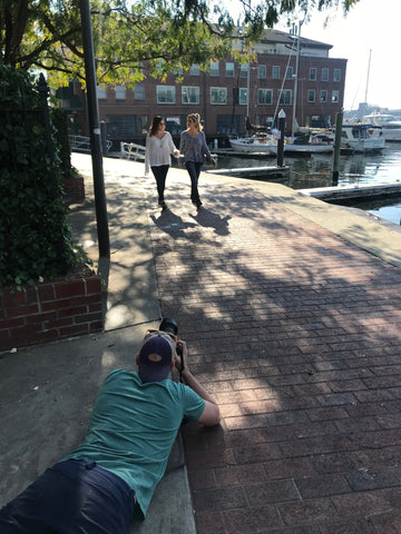 Fells Point Surf Fall Photo Shoot