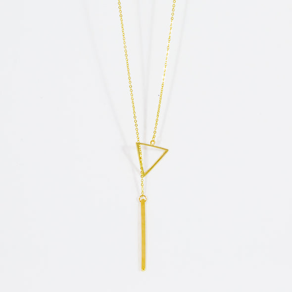 Classic Triangle Necklace