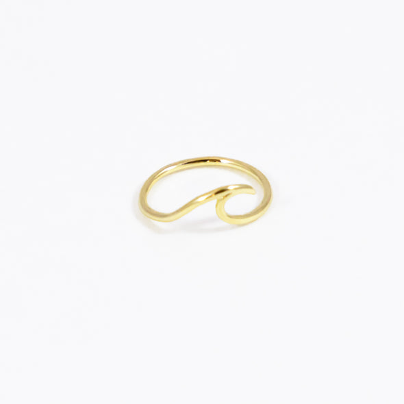 Wave Ring - Gold