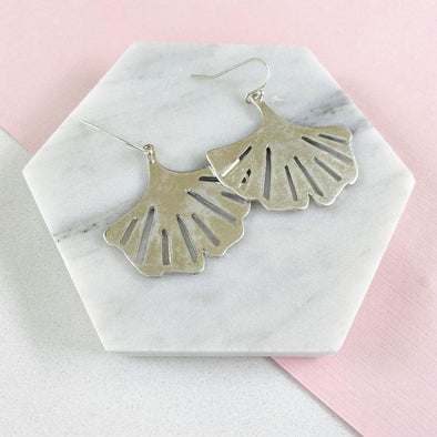 Palmer Earrings - Silver