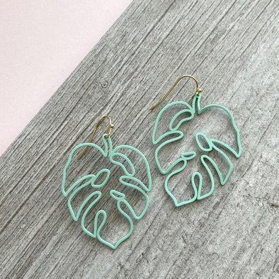 Quincy Earrings - Mint