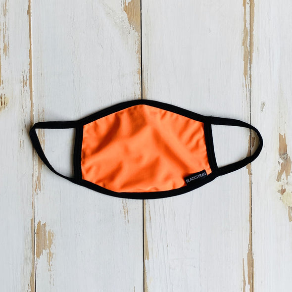 Solid Bright Orange Mask