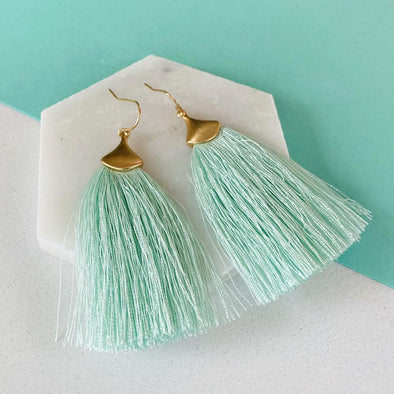 Barbados Earrings - Teal
