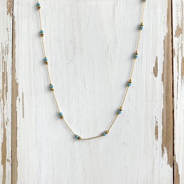 Cybil Necklace - Blue