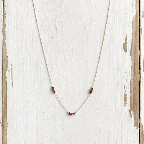 Marley Necklace - Berry